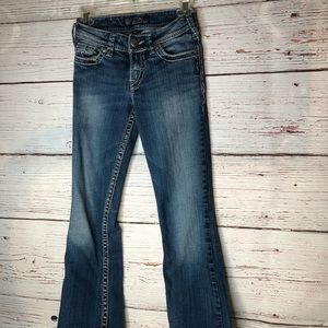 Silver Jeans Jeans - Silver Jeans Regular Fit Size 24
